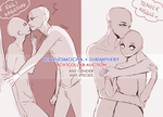 Collab Couple YCH auction [CLOSED] by ZenithOmocha