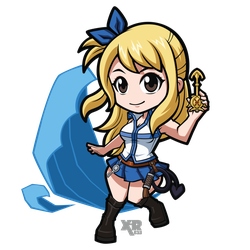 FA Lucy - Fairy Tail by XaR623