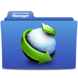 IDM Internet Download Manager Folder icon by Altoor