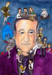 Robin Williams by hatoola13