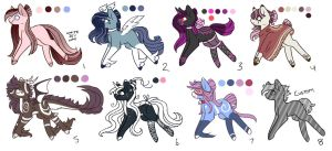 Ranged MLP Adoptions 13.0 :Auction: [Closed] by InspiredPixels