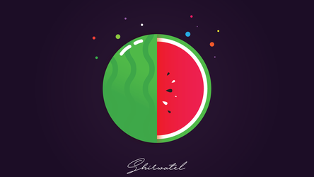 Summer's Watermelon by Sh1rwatel