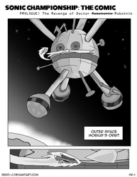 Sonic Championship Prologue Page 1 by Xero-J