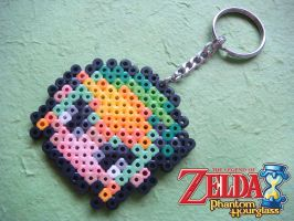 Legend of Zelda: Phantom Hourglass - Link Keychain by nintentofu