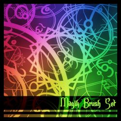 Scrap Magic Circle Brushes by LoneMuffin