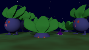 Oddish? Night by SiverCat