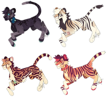 Tattoo Cattos [CLOSED] by Sweet-n-treat