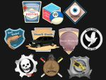 Merit Badges by dustMights