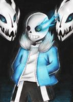 Sans-undertale by L-Gabs