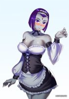 Maid Raven by HaryuDanto