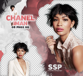 Png Pack 3829 - Chanel Iman by southsidepngs