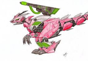 Demon Saurer by GhostLiger