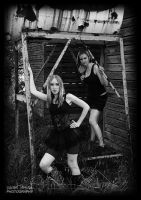 The Sisters Explore The Farm by DeviantDesires
