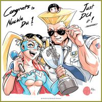 CapcomCup2016 Du the Champion by r-chie