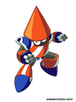 Rocket Man (Robot Master Rally) by KarakatoDzo
