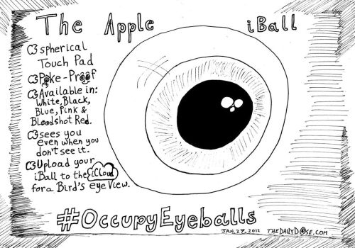 The Apple iBall editorial cartoon by amazingn3ss