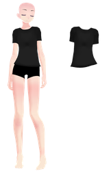 - MMD DOWNLOAD- TDA Male Shirt by Lennaiii