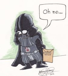 Darth Vader's Worst Day by johnnyism