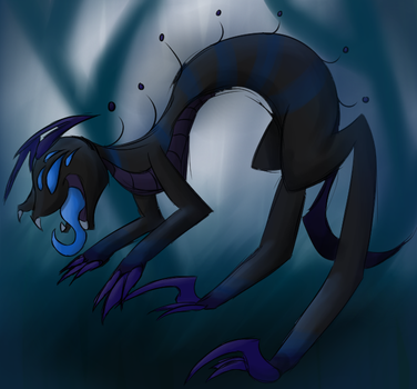 Creature by RavenHaywire