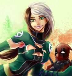 rogue and deadpool by GAN-91003