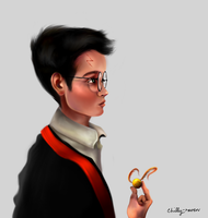 The Boy Who Lived by chillyravenart