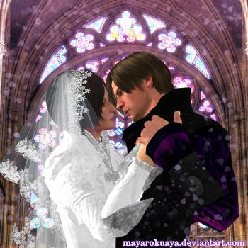 Be my woman, be my man - Leon Kennedy x Ada Wong by MayaRokuaya
