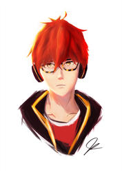 Seven Mystic Messenger by Evil0cookie