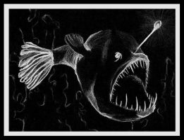 Angler fish by mystery007chick