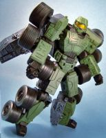 Master Chief Transformer by coverop