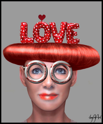 WITH LOVE GLASSES,THE WORLD LOOKS BEAUTIFUL. by IME54-ART