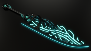Blakcyan Broadsword - Epee large Blakcyan - OC by Etrelley