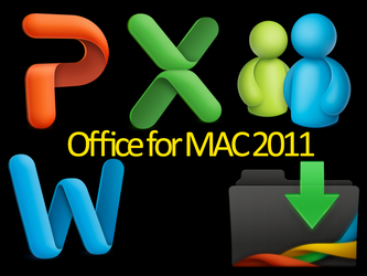 Office for mac 2011 icons by llekciam