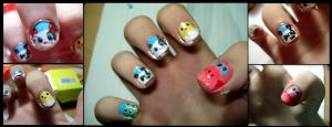 Animsls nails#2 by ItsMyUsername