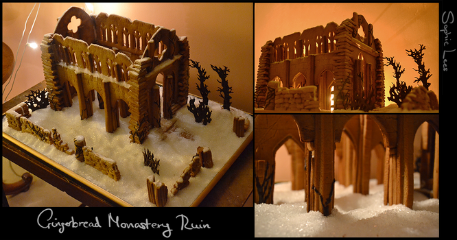 Gingerbread Monastery Ruin by MO-ffie