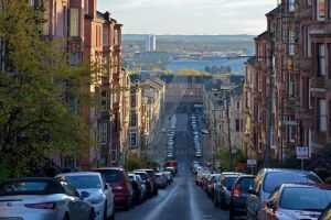 Glasgow street by MairStudio