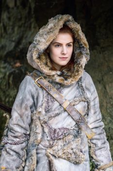 Ygritte. Kissed by fire by MadameSkunk