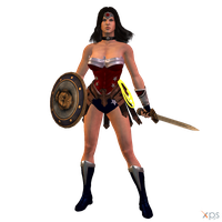 Wonder Woman (My Version) by MrUncleBingo