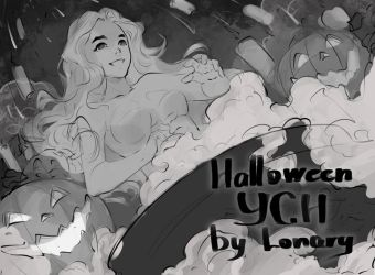 [Close] YCH Auction: 67. Halloween! by Lonary