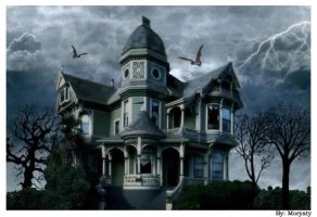 ghosts house by Moryarty2006