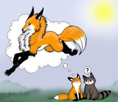 StupidFox: Imagination by owopyre
