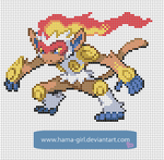 Infernape by Hama-Girl