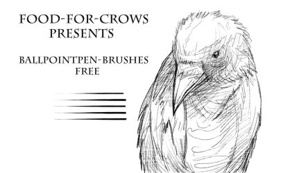 Ballpointpen Brushes - Free by Food-For-Crows