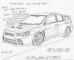 Mitsubishi Evolution X 'Evo-G' by RacerXNFS