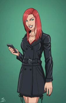 Emily Briggs (Earth-27) commission by phil-cho