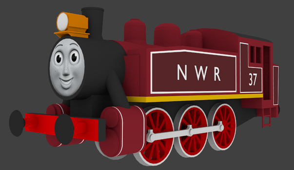 Rosie the red engine by Sirfowler1