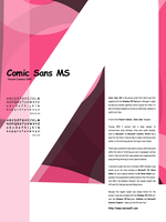 Type Study - Comic Sans MS by newklear