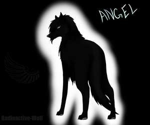 Angel Wolf by Radioactive-Wolf