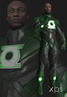 Injustice 2 John Stewart by thePWA