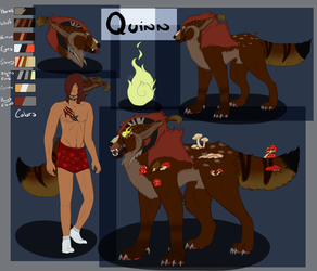 Quinn Ref Sheet by DraconicApocalypse