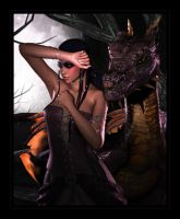 Dragon Princess II - for Eve by Vanesse